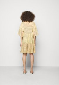 CLOSED - TENNIE - Day dress - strong mustard - 2