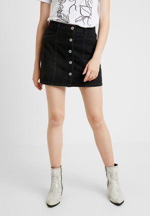 SKYE SKIRT - Denim skirt - vintage black