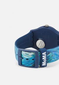 Swatch - THE STARRY NIGHT BY VINCENT VAN GOGH UNISEX - Hodinky - blue - 1