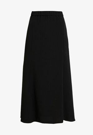 HALO SKIRT - Áčková sukně - black dark