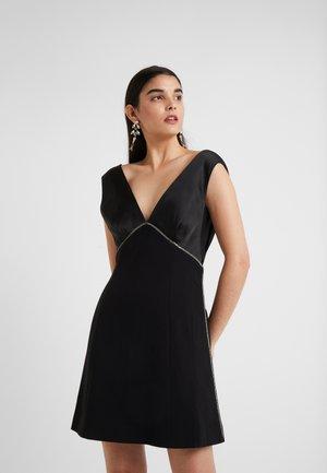 PERETTI DRESS - Vestido de cóctel - black