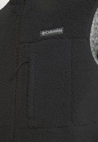 Columbia - MOUNTAINSIDE™ VEST - Waistcoat - black - 5