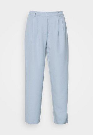 YASCORNFLOWER CROPPED PANT - Trousers - cornflower blue