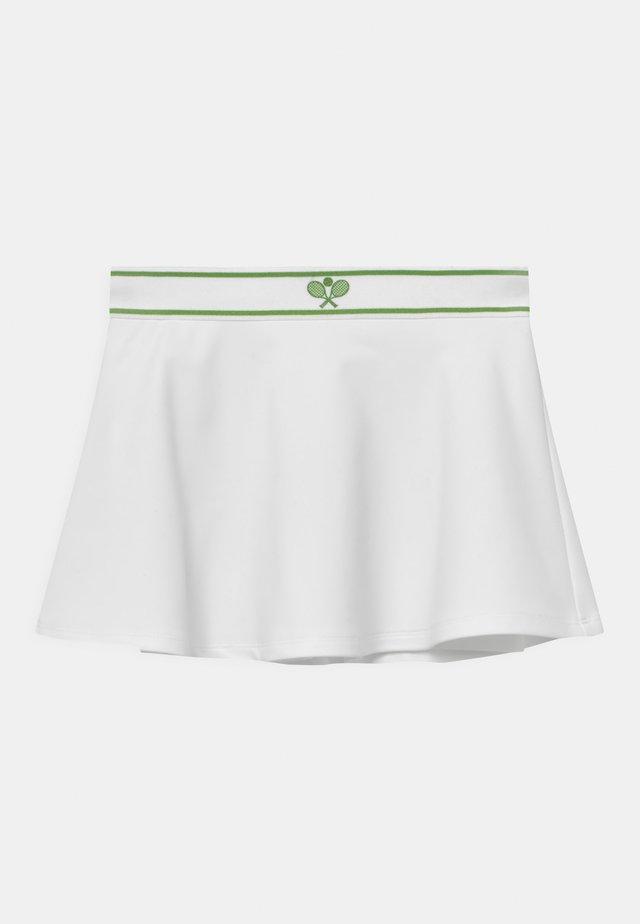 MINI TENNIS  - Mini skirt - off-white