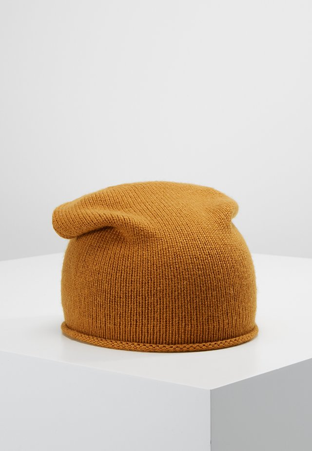 Čepice - mustard