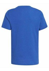 adidas Performance - LOGO T-SHIRT - Print T-shirt - blue - 1