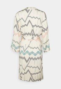 LASCANA - NATIVE KIMONO - Dressing gown - light beige - 1