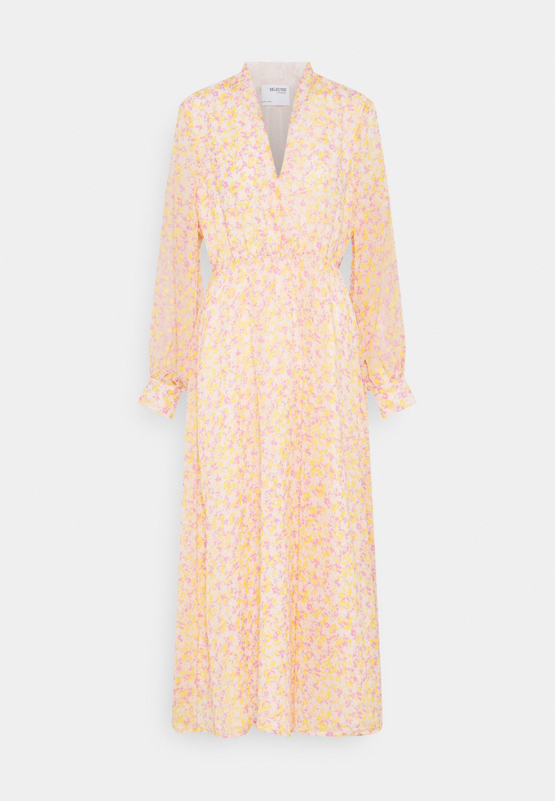 Women SLFJEANIE VIENNA DRESS - Maxi dress