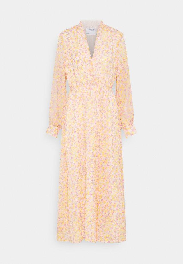 SLFJEANIE VIENNA DRESS - Maxi-jurk - opera mauve