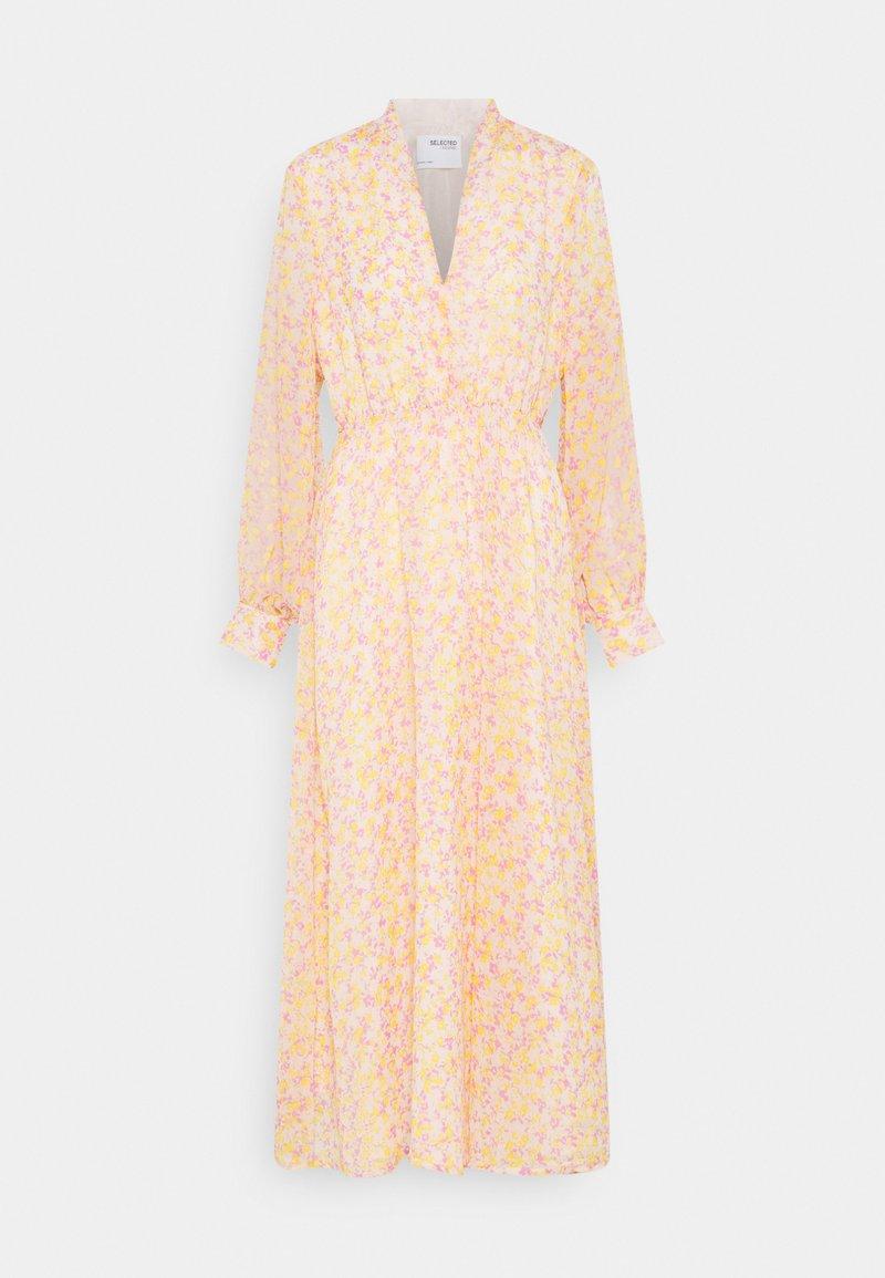 Selected Femme - SLFJEANIE VIENNA DRESS - Maxi dress - opera mauve