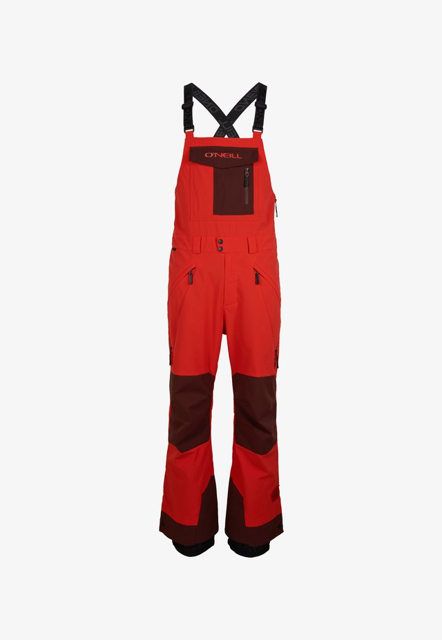 Pantalon de ski - fiery red