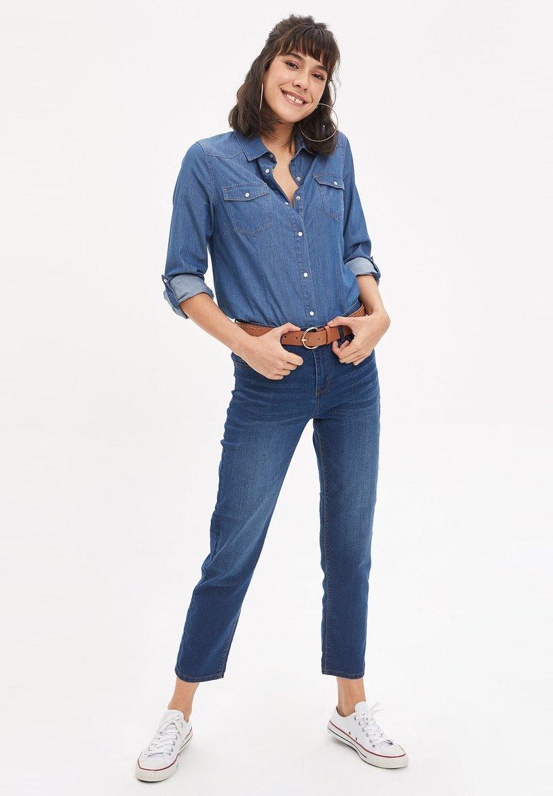 DeFacto - Jean slim - blue