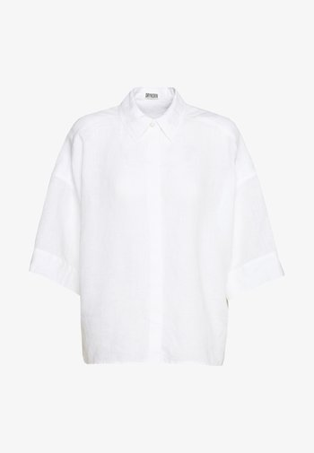 THERRY - Button-down blouse - weiss