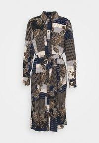 Vero Moda - VMHILDA CALF DRESS - Day dress - navy blazer/hilda - 5