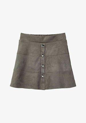 A-line skirt - granite grey