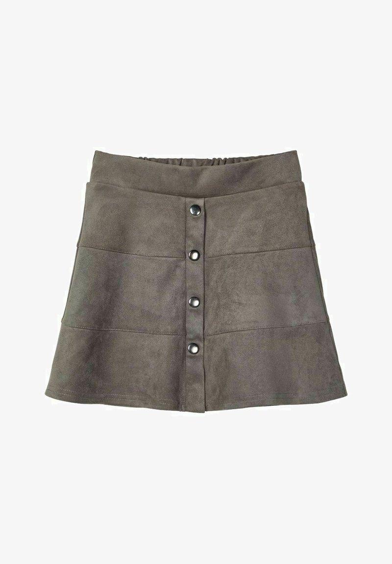 Name it - A-line skirt - granite grey