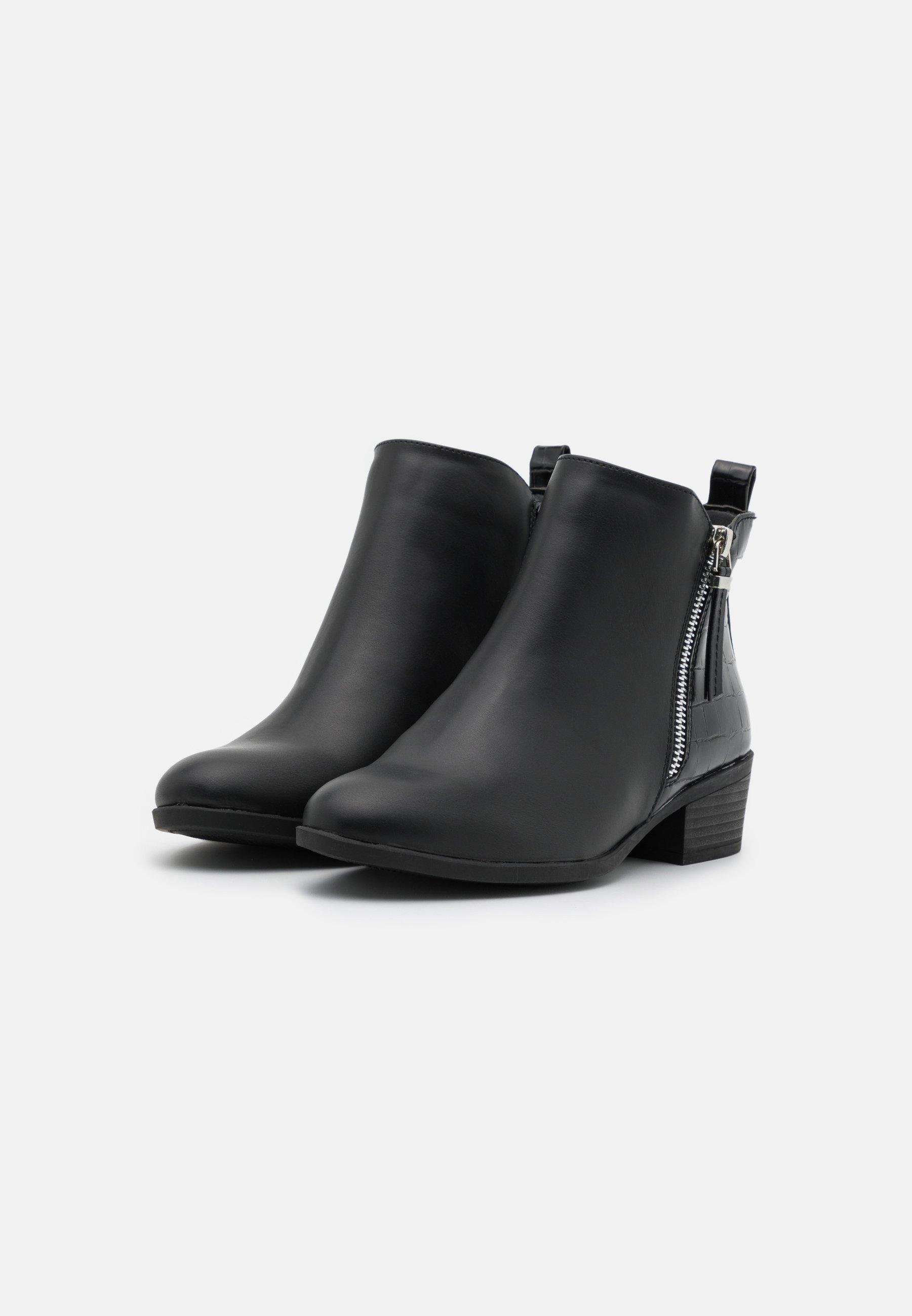 Dorothy Perkins MACRO SIDE ZIP BOOT Ankle Boot black/schwarz
