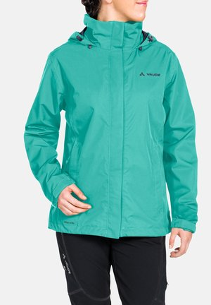 WOMANS ESCAPE LIGHT JACKET - Waterproof jacket - peacock
