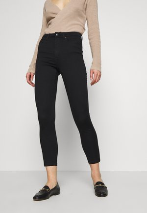 VMSOPHIA ANKLE ZIP - Jeans Skinny Fit - black
