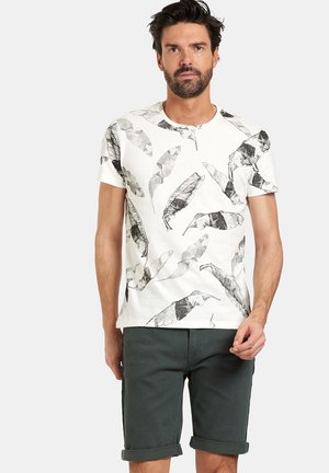 TIES - T-shirt print - white