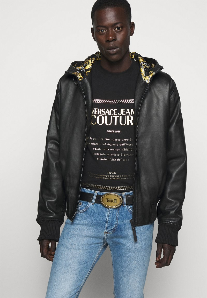 Versace Jeans Couture - Belt - black/gold-coloured