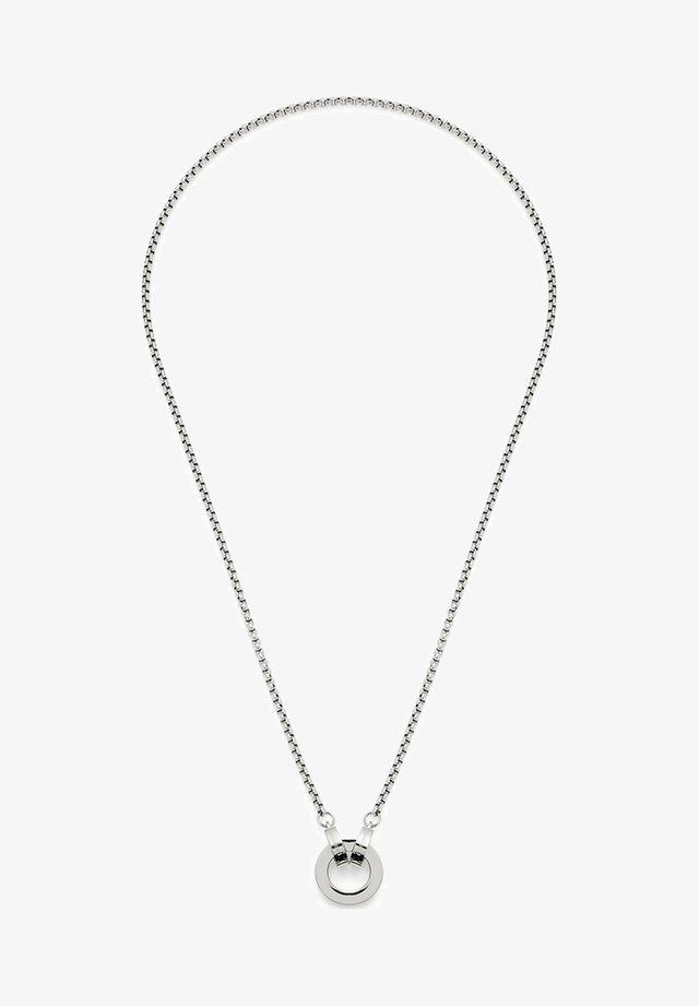 Halskette - silber
