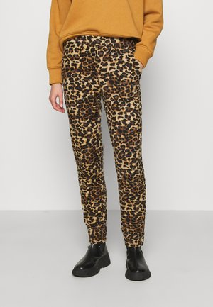 ONLELCOS ANIMAL LONG PANTS - Pantalones deportivos - camel