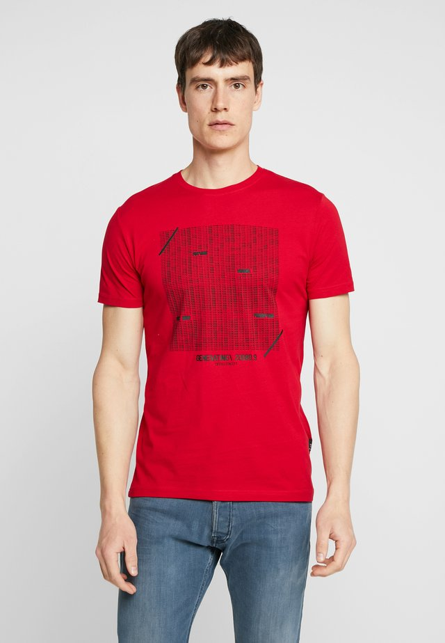 GIBSON - T-shirt print - red
