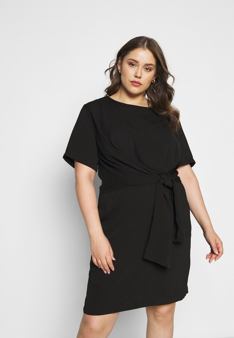 Kaffe Curve - LOTA DRESS - Vapaa-ajan mekko - black