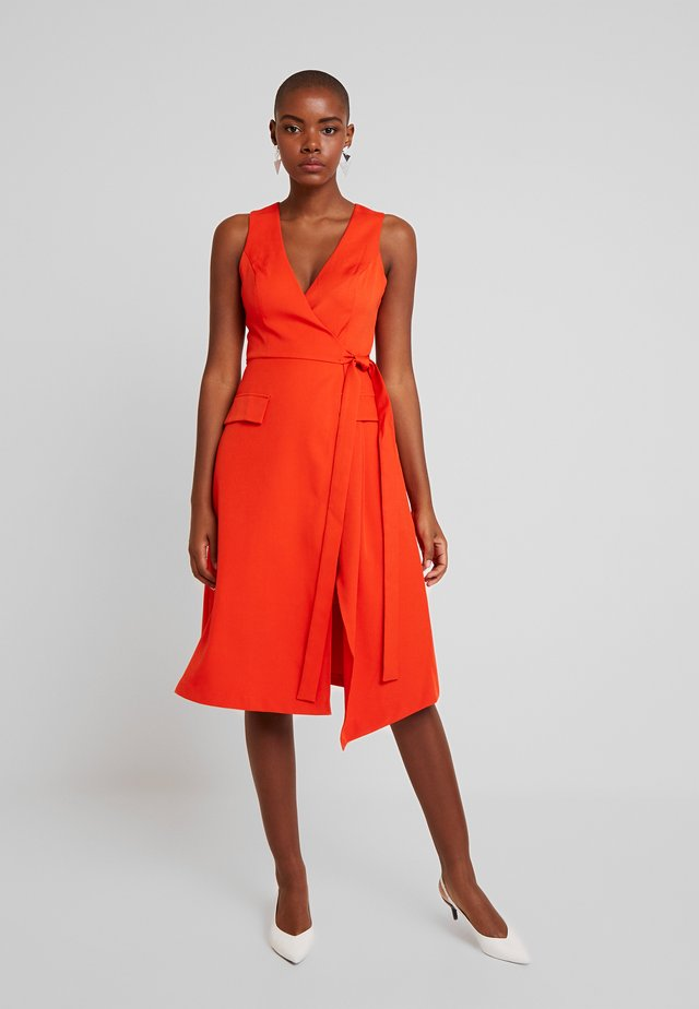 JUST LIKE A DREAM DRESS - Day dress - tangerine