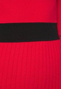 HUGO - SEAGERY - Jumper dress - open pink - 5