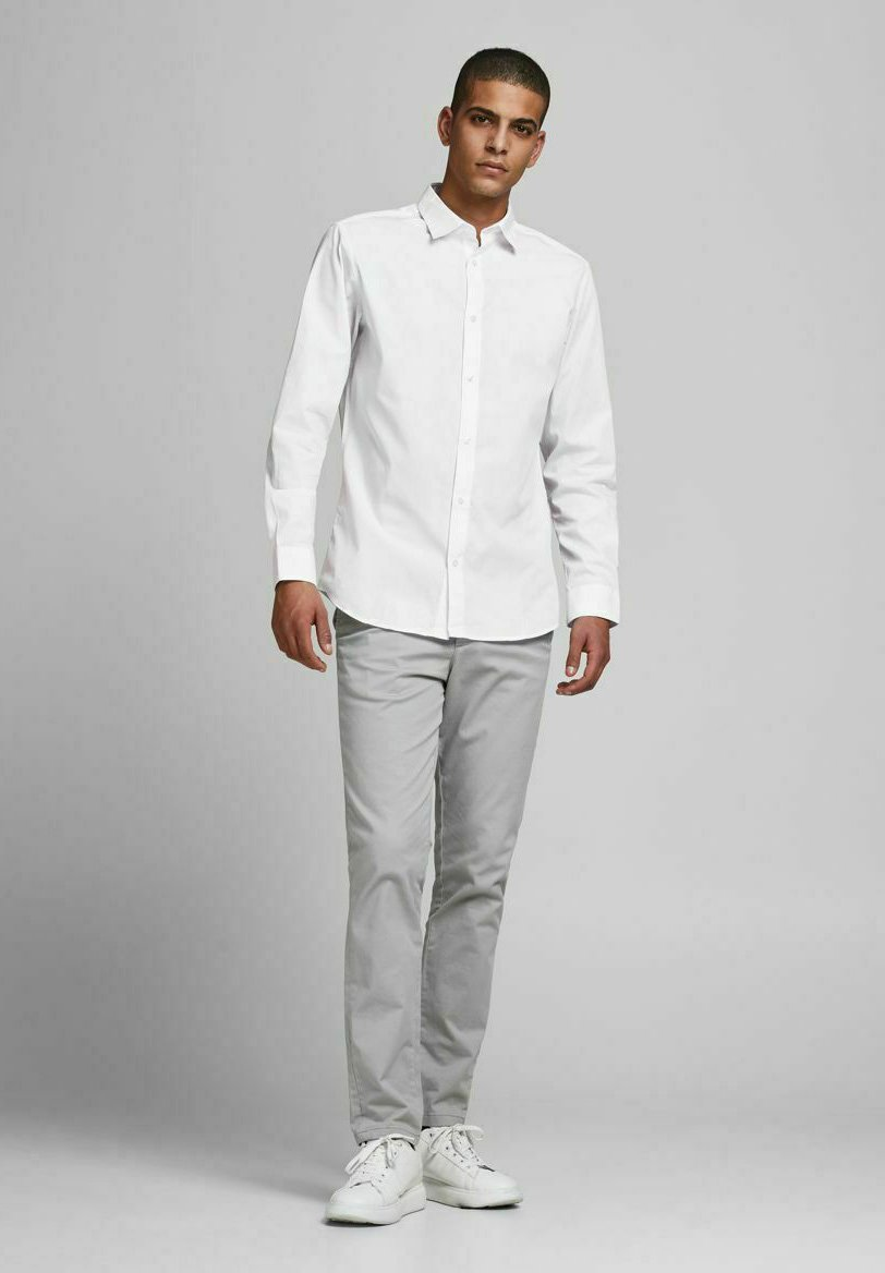 Uomo JJJOE SET - Camicia elegante - white