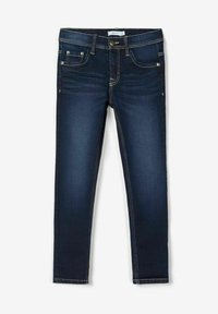 Name it - Slim fit jeans - dark blue denim - 4