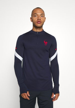 FRANKREICH FFF DRY - Article de supporter - blackened blue/white/university red