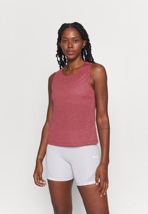 TEXTURE TANK - Top - comfort pink