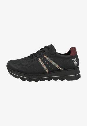 Sneakers laag - black (l3324-00)
