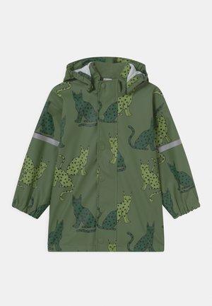 MINI RAIN JACKET UNISEX - Waterproof jacket - dusty green
