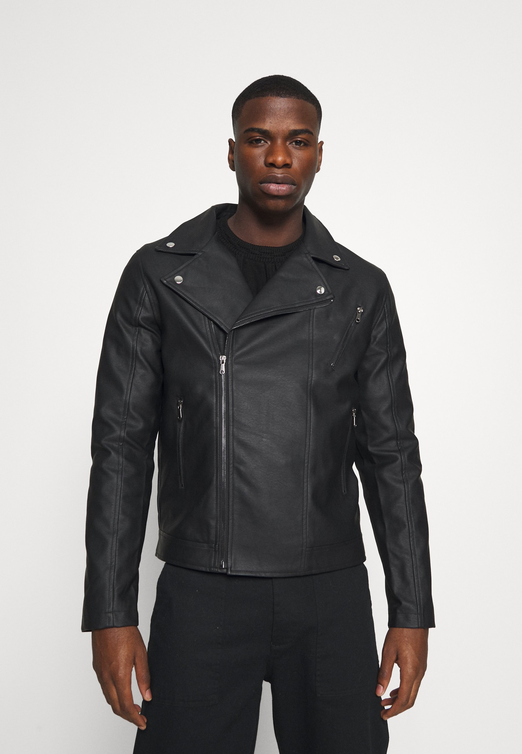 Uomo BIKER  - Giacca in similpelle