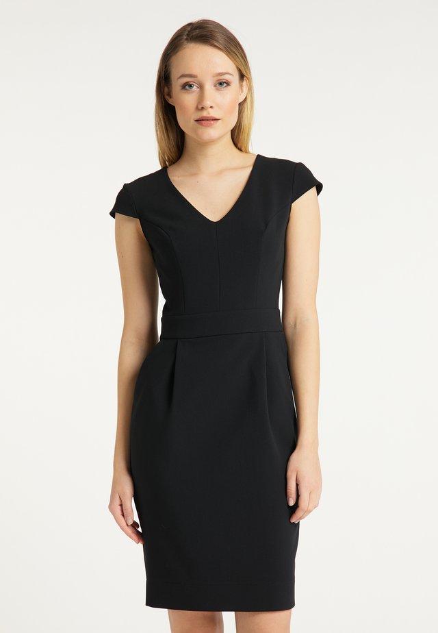 Sukienka etui - schwarz