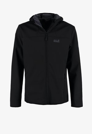 NORTHERN POINT - Kurtka Softshell - black