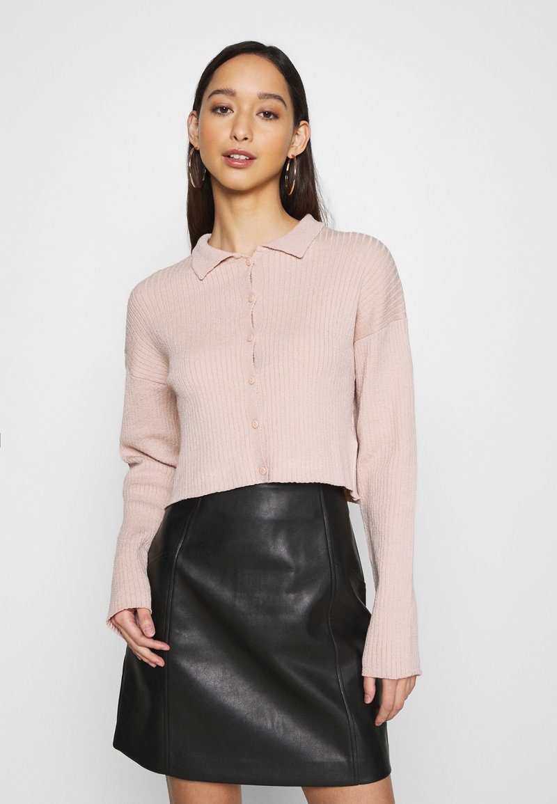 NA-KD - SOFT - Cardigan - pink