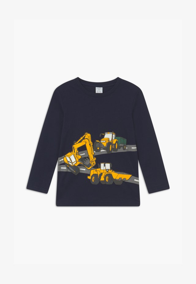MINI EXCAVATOR - Maglietta a manica lunga - dark navy