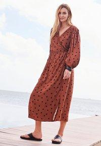 Next - Maxi dress - tan - 1