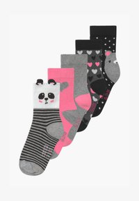 Schiesser - MÄDCHEN 5 PACK - Socks - multi-coloured - 0