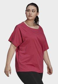 adidas Performance - W TE TEE PB - T-shirts - pink - 2