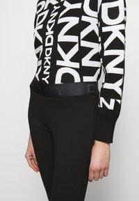 DKNY - FOUNDATION LOGO - Leggings - black - 3