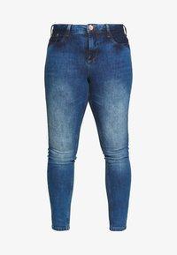 Zizzi - NILLE LIM - Jeans Skinny Fit - blue denim - 3
