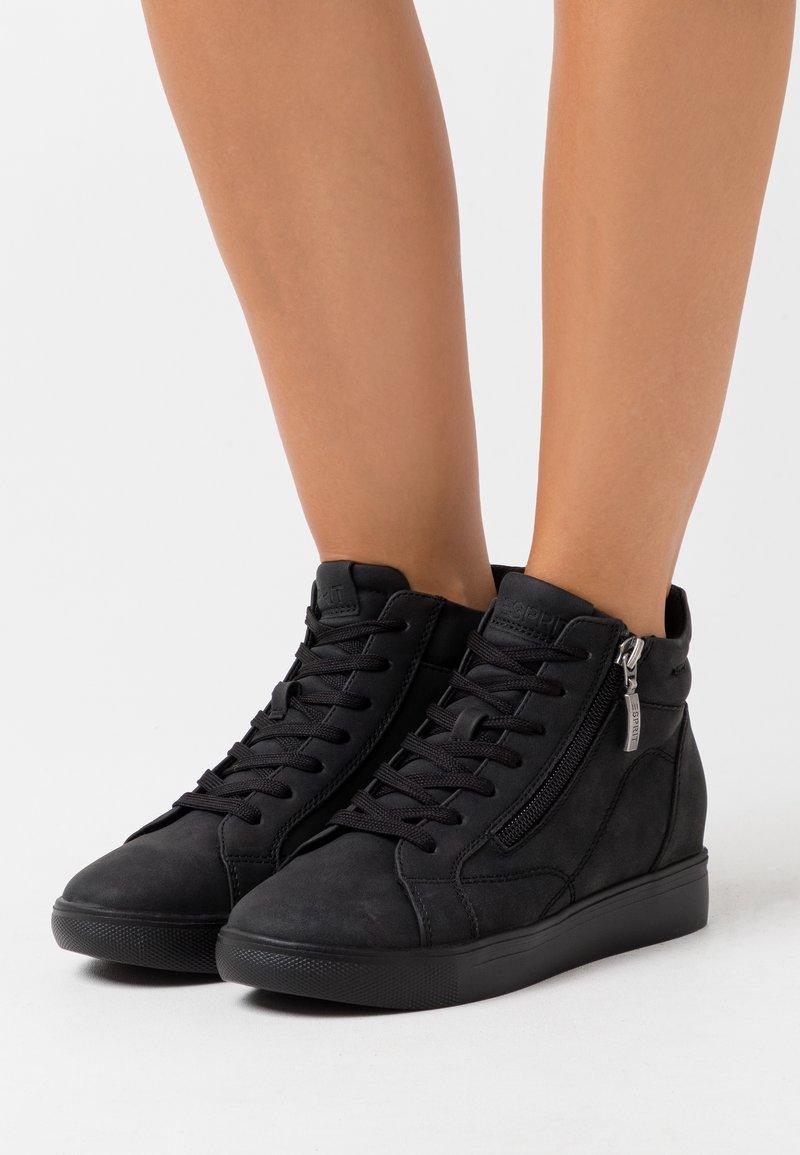 Esprit - GRANADA - Sneakers high - black