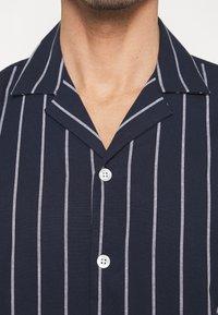 Lindbergh - STRIPED RESORT  - Shirt - dark blue - 6