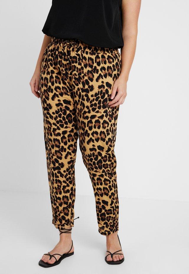LADIES ELASTIC WAIST PANTS - Spodnie materiałowe - multi-coloured